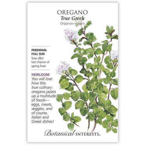 Botanical Interests Oregano True Greek