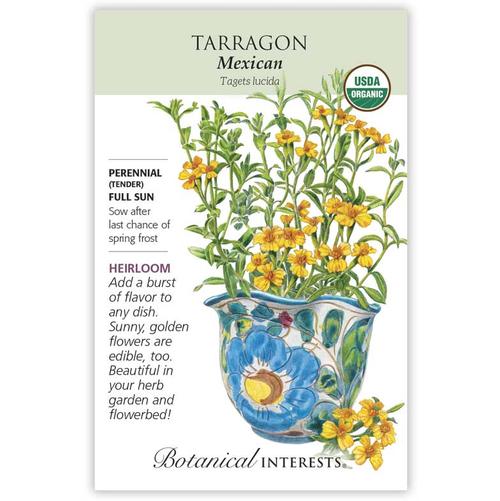 Botanical Interests Tarragon Mexican Organic