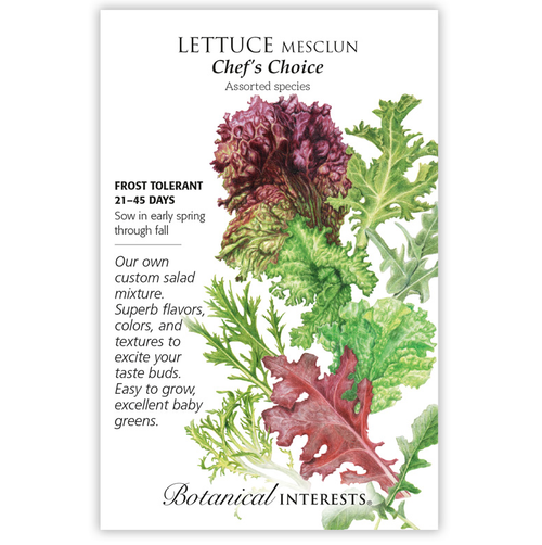Botanical Interests Mesclun Chef's Choice