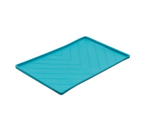 Messy Mutts Silicone Bowl Mat w/rods LARGE