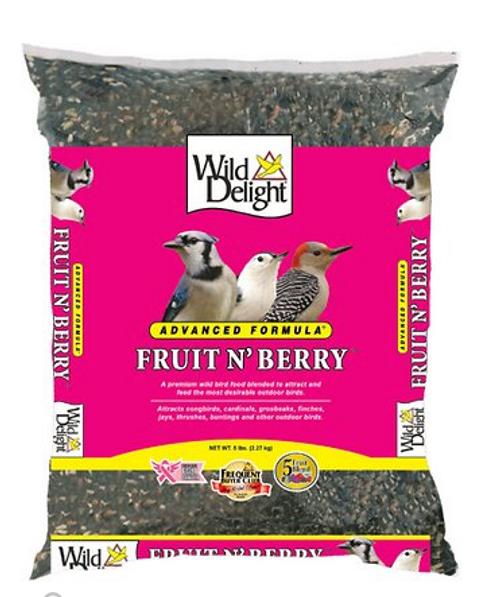 Naturalist Berry Fruit n' Nutty Wild Bird Food