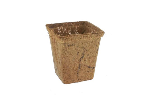 """Square Coir Pot 4.2"""""""