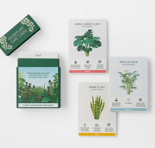 Another Studio House Plant  Care Cards