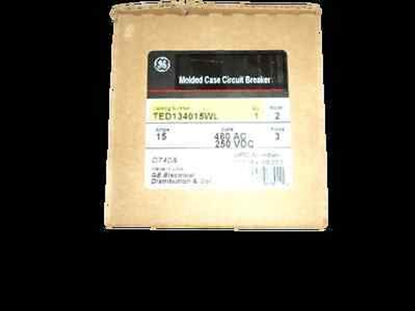 TED134015WL - GENERAL ELECTRIC CIRCUIT BREAKER new boxed
