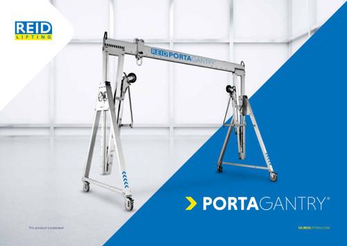 Reid Lifting Portable Gantry and Davit Cranes