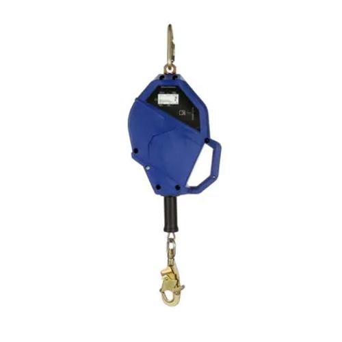 3M™ DBI-SALA® Smart Lock Self-Retracting Lifeline, Galvanized Cable, Blue, 50 ft. (P/N: 3503824)