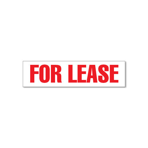 RMD 4x16 Magnet Red & White - For Lease
