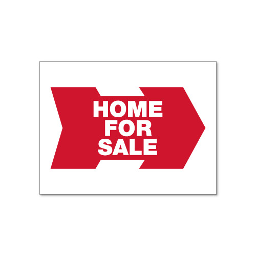 RMD 18x24 Home For Sale Directional Panel - Double Sided Steel