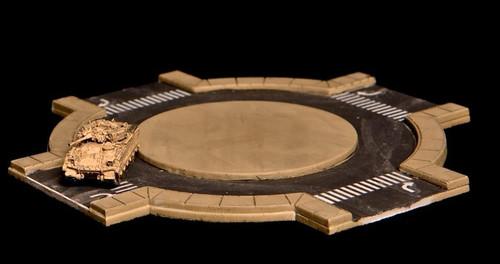 Traffic Circle (Roundabout), 2 Lane Road - 3MMROAD006