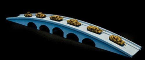 "12"" Bridge (Matboard) - 285CSS010"