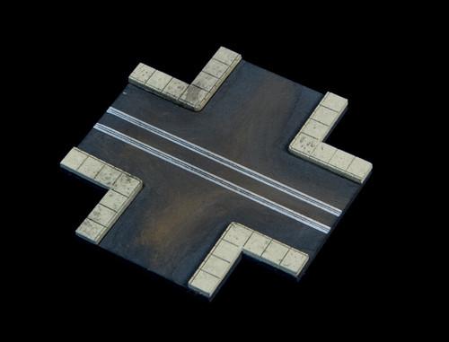4 Way Crossing, 2 LaneRoad - 285ROAD062