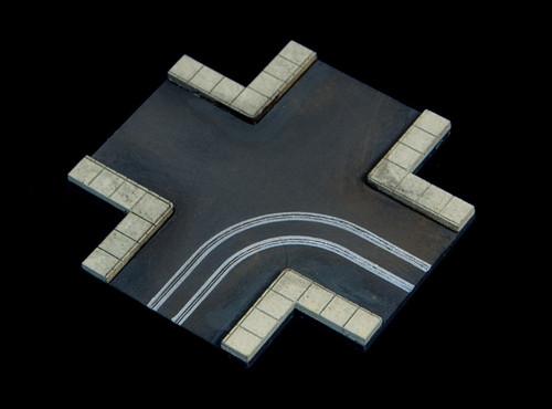 4 Way Crossing, 2 LaneRoad - 285ROAD078