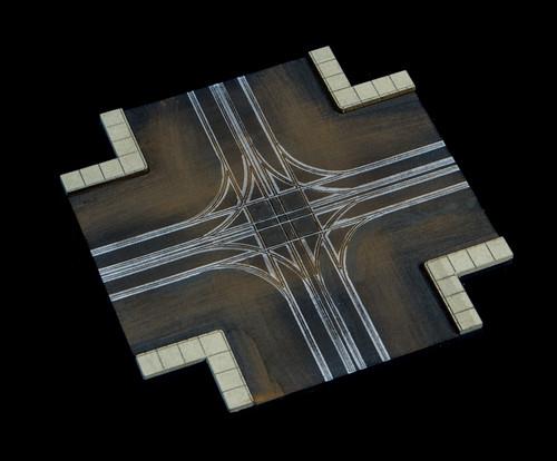 4 Way Crossing, 4 LaneRoad - 285ROAD073