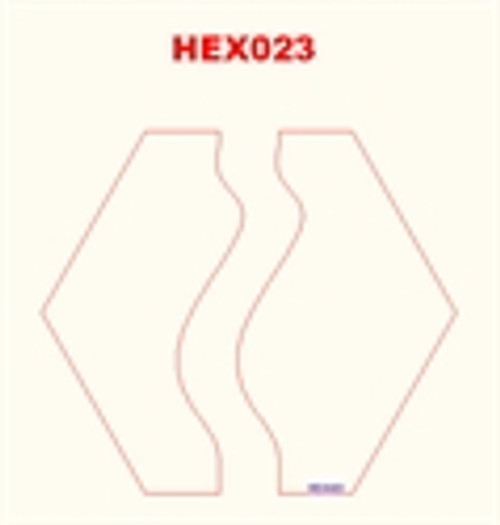 Straight River Hex - 285HEX023