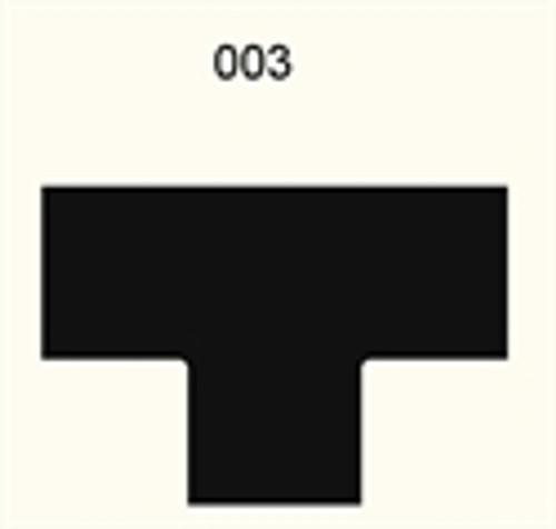 3 Way Intersection, 2 Lane Road - 285FELT003