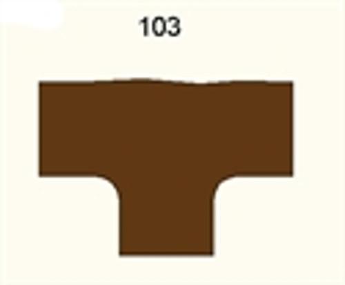 3 Way Intersection, Dirt Road - 285FELT103