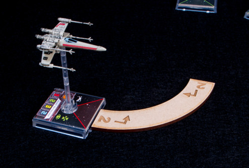 Star Wars X-Wing Maneuver Templates