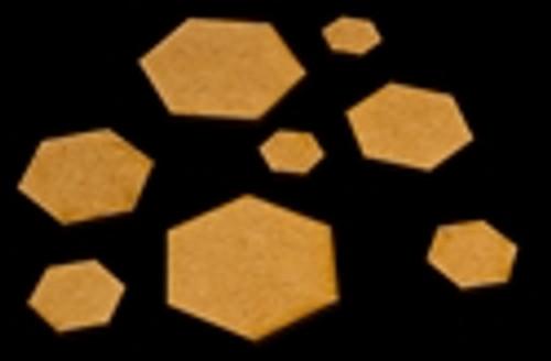 """.75"""" (19mm) Hex Base (MDF)"""