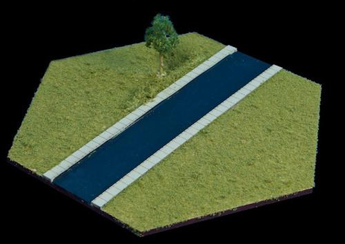 Straight Road Hex - 3MMHEX002