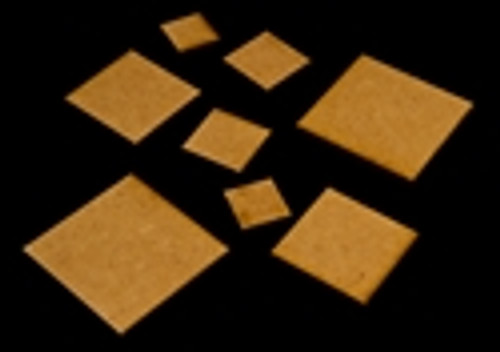 "1.25"" x 2.5"" Rectangle Bases (MDF)"