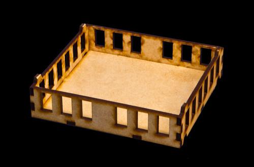 "15mm ""Stackable"" Building, Upper Floors (MDF) - 15MMDF104-2"