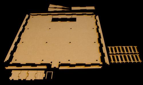 Parking Structure, Middle Floor (MDF) - 15MMDF082-2