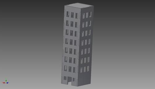 City Building (MDF) - 15MMDF253