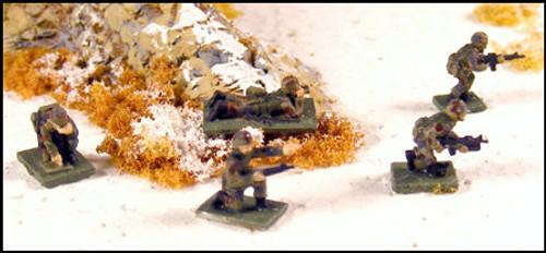 Individual US Infantry - N125