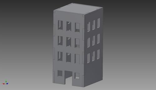 City Building (MDF) - 15MMDF255
