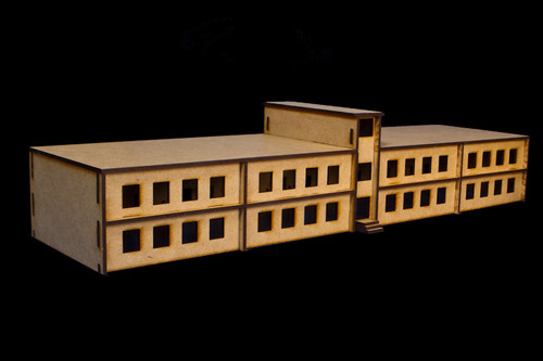 Large School Building (MDF) - 15MMDF056