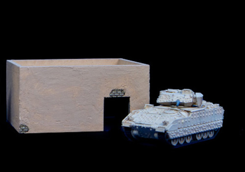 Middle East One Story Building (MDF) - 15MMDF010