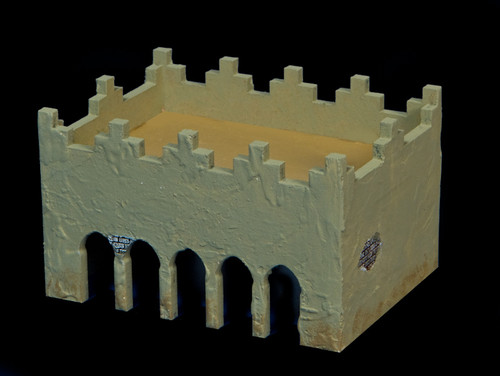 Middle East One Story Building (MDF) - 15MMDF012