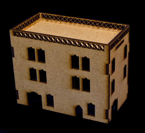Middle East Three Story Building (MDF) - 15MMDF023