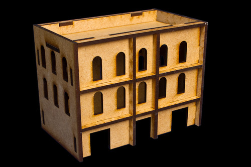 Middle East Three Story Building (MDF) - 15MMDF058