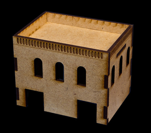 Middle East Two Story Building (MDF) - 15MMDF020