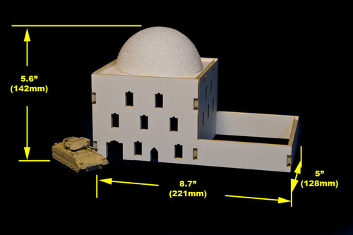 Mosque (MDF) - 15MMDF040