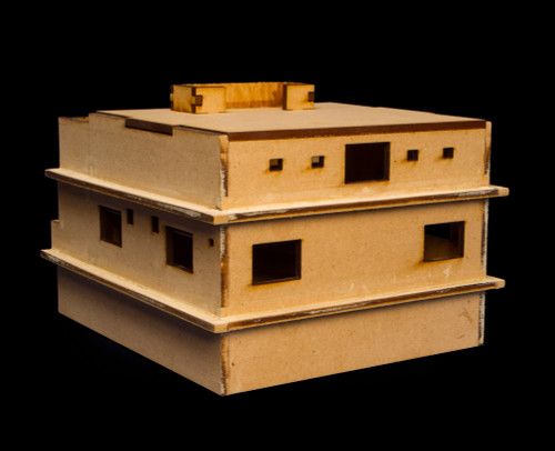 Osama Bin Laden's Home (MDF) - 15MMDF150