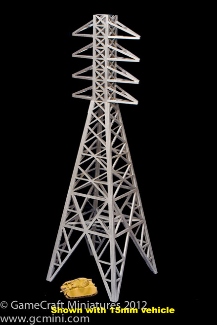 Power Transmission Tower, AKA Electricity Plyon (15mm & 20mm) (MDF) - 15MMDF123