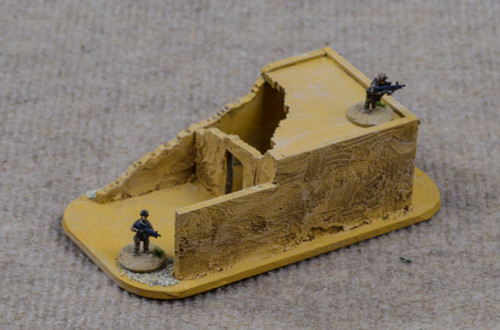 15mm Ruined Afghan Style Hovel (MDF) - 15MMDF072