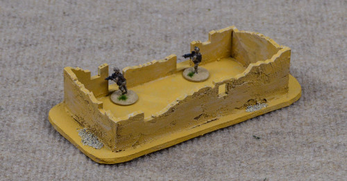 Ruined Afghan Style Hovel (MDF) - 15MMDF075