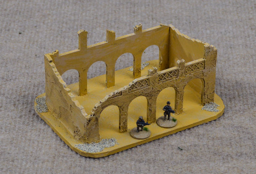 Ruined Building (MDF) - 15MMDF057