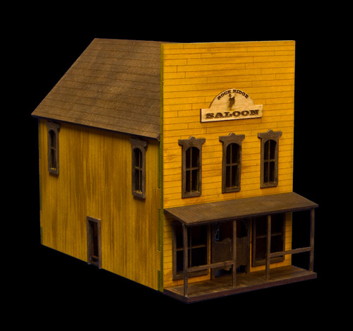 Old West Two Story Building - 15MWEST003
