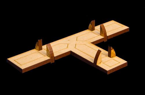 """Crusties """"T"""" Intersection Dock Piece - 15MTW030"""