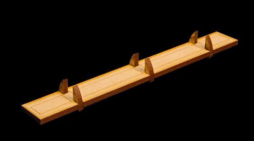 """Crusties 6"""" Dock Piece - 15MTW029"""