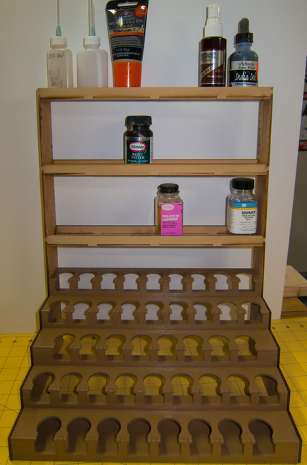 Shelf Unit for Paint Racks - Version 2