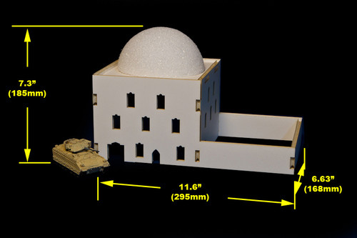 Mosque (MDF) - 20MMDF040