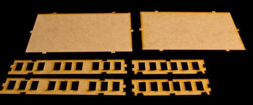 """20mm """"Stackable"""" Building, Top Floor - 20MMDF103-3"""