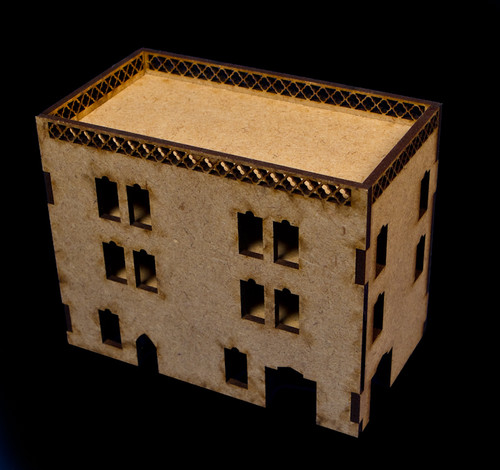 Middle East Three Story Building - 20MMDF023