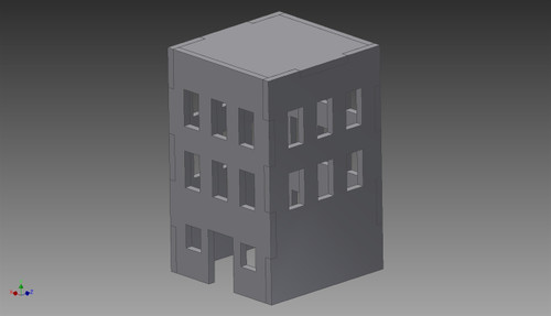 City Building - 20MMDF256
