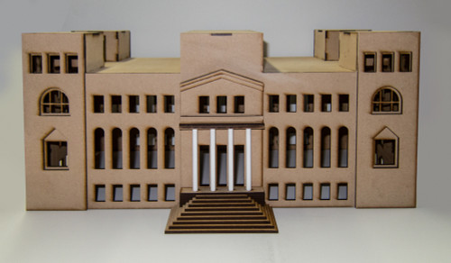 20mm WWII Government Building - 20MMDF267-2